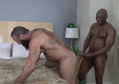 BBC gets blowjob and fucks daddys ass